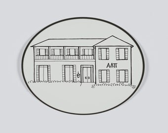 florida alpha delta pi sorority house sticker