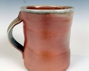 "Woodfired mug 5"" x 4"" x 4"""