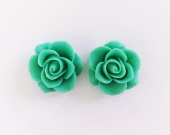 The 'Lisette' Flower Earring Studs