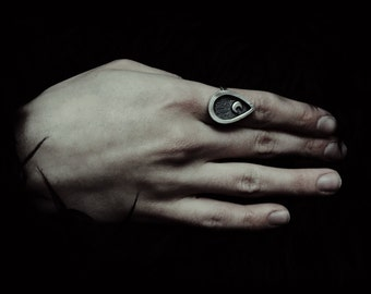 Witchcraft Silver Moon Ring