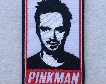 Jesse Pinkman Breaking Bad The Movie Embroidered Iron on / Sew on Patch