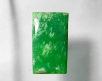 Top Rare. Natural Chrysoprase cabochon, Green Chrysoprase loose gemstone, Chrysoprase loose stone,Chrysoprase gemstone 43 Cts. #2303N