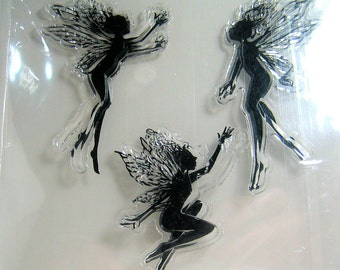 Three Fairy Clear Stamps