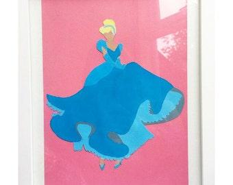 Acrylic Disney Princess Painting