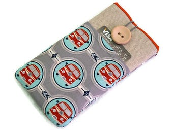 iPhone 7 case, camper van, iPhone 6 Plus Case, iPhone 7 Pouch , iPhone SE case, iPhone 6 sleeve, iPhone 5 pouch, iPod Touch case