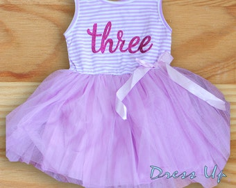 Three Years Old Birthday Dress