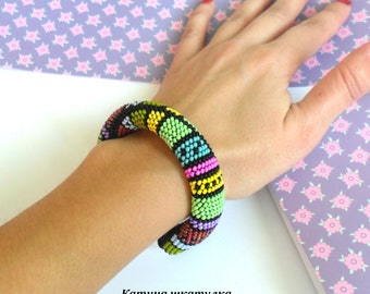 Colorful bracelet Beaded bracelets.