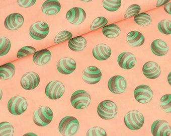 Cotton bumble dot sorbet by Tula pink (17.50 EUR / meter)