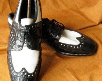 Lillywhites English made 60's lace up sports shoes 9.5 (UK). Resoled/rehealed.