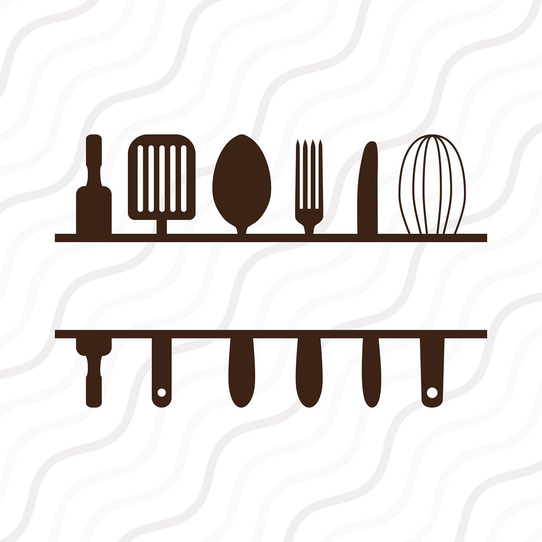 Download Split Kitchen SVG Kitchen SVG Kitchen Monogram SVG Cut table