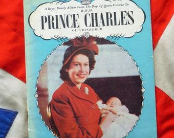 British Royal Family. Prince Charles. Royal Photograph Album Booklet