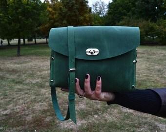 Genuine Leather Crossbody Purse. Clutch Purse.+2PROMO, Woman's Bag. Handbag. Crossbody Bag. Shoulder Bag. Designer Bag.
