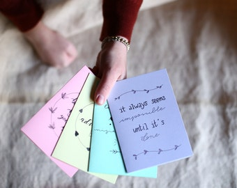 Colored cards