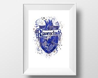 Harry Potter, Ravenclaw, Hogwarts *Print*