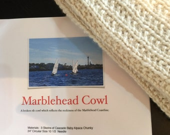 Marblehead Cowl Kit - Ecru