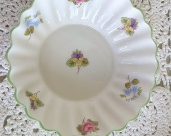 Shelley Fine bone china fluted edge dish