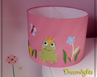 "Lampshade ""Little frog King"""