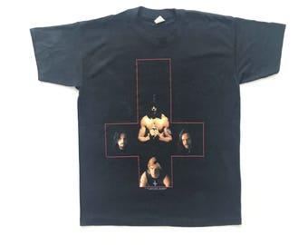 1990 Danzig vintage band T-shirt - M - Misfits, Prong, Gwar, Type O negative, Paradise lost