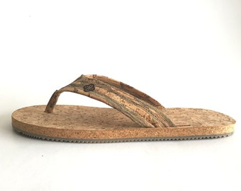 Natural Eco-Friendly Cork Sandals - Natural