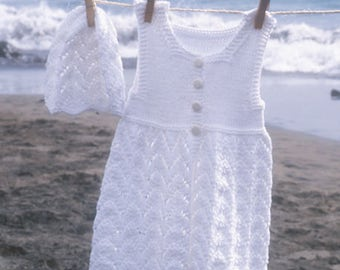 sweet cotton dress with Hat