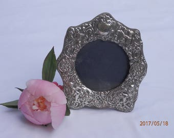silver photo frame, silver picture frame