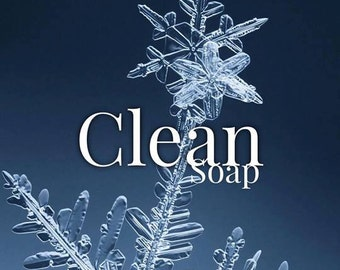 Clean Scented Bar Soap