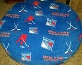 XL size dog bed NY Rangers