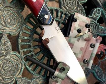 """Paduk """"camo"""" hunter 5.25"""" blade"""