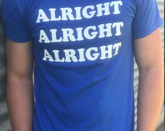 ALRIGHT ALRIGHT Alright - Dazed and Confused T-SHIRT