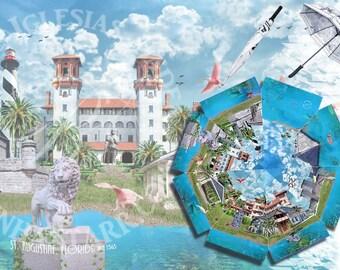 Saint Augustine Florida - Umbrella