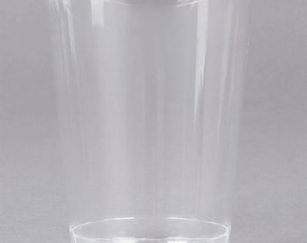 25 (10 oz) Clear Hard Plastic Cups, Party Supplies, Wedding Supplies, Party, Wedding, Paper Cups, Beverage Cups, Cups, Supplies