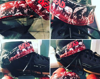 The Walking Dead Heel Straps for Skates