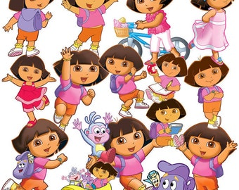 Dora explorer and friends