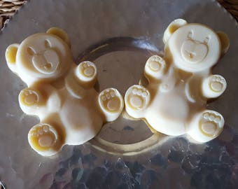 Banana Bubblegum Bears Coconut Milk Soap for Kids