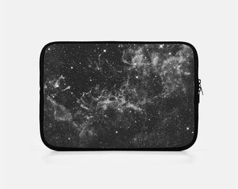 Galaxy iPad Sleeve, Black iPad Sleeve, Space iPad Sleeve, iPad Mini Sleeve, Kindle Sleeve, iPad Mini Cover, iPad Clutch, Tablet Sleeve,
