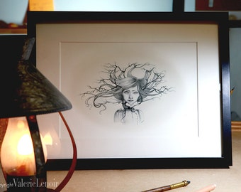 print 'The tree' by Valerie Lenoir.