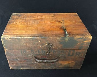 Barn Find Vintage Small Box/Carrier