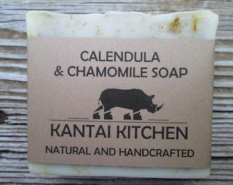 Calendula & Chamomile Soap