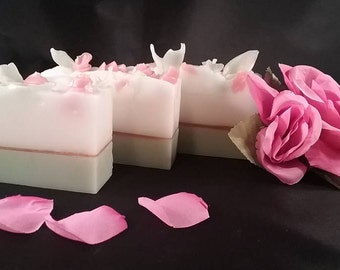 Rose Organic Goat Milk Soap
