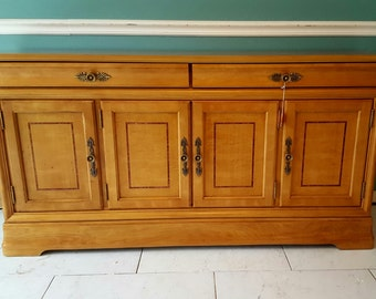 Buffet / Sideboard / Server / Vintage Buffet ~ Paint To Order