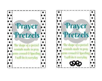 Prayer Lesson Handout