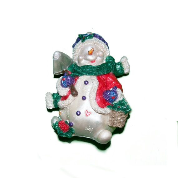 Frosty the Snowman 3D Christmas Tree Ornament