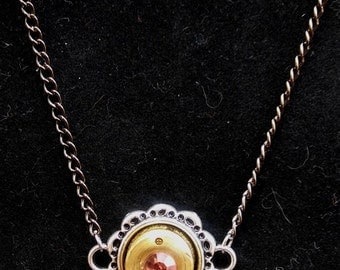 Hand Crafted Casing Necklace