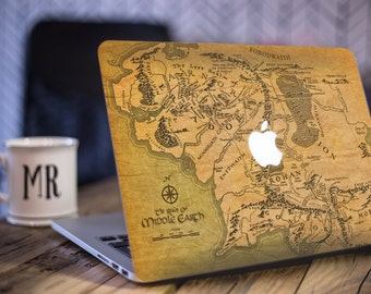 Macbook Sticker/ Lord Of The Rings/ Middle Earth Decal/ LOTR Sticker/ LOTR Decal/ Amazing Decal/ Vinyl Decal/Geek Decal/Laptop Decal - SD018