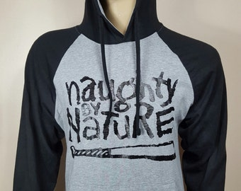 Naughty By Nature Gray Rangla Jersey Hoodie