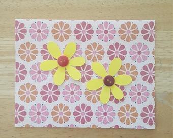 Bright Flower Blank Card