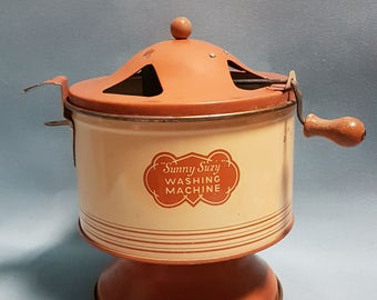 Sunny Suzy Washing Machine Toy, 1930's Selling AS Found