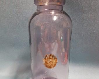 RARE Large Antique Amethyst Druggist Apothecary Jar