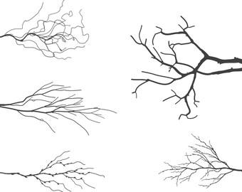 Digital Tree Branches