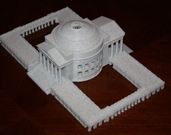 UVA Rotunda 3D Printed